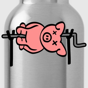 Pig Barbecue T-Shirts - Water Bottle