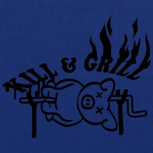 Kill And Grill Pig T-Shirts - Stoffbeutel