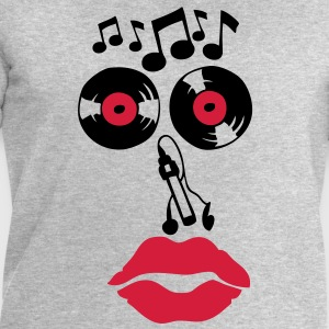 smiley disque 33 tours music note cle Tee shirts - Sweat-shirt Homme Stanley & Stella
