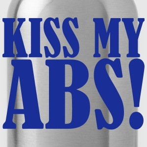 Kiss My Abs Magliette - Borraccia