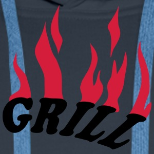 Grill T-Shirts - Men's Premium Hoodie
