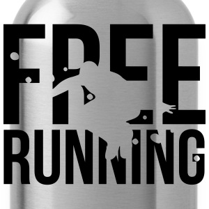 free running  T-Shirts - Trinkflasche