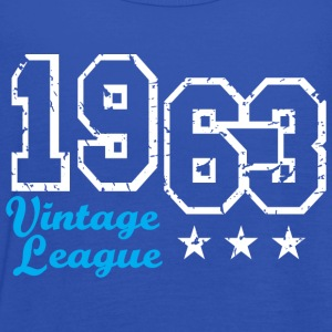 Vintage League 1963 Birthday Design T-Shirt - Vrouwen tank top van Bella