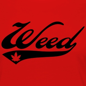 Weed Team Sweat-shirts - T-shirt manches longues Premium Femme