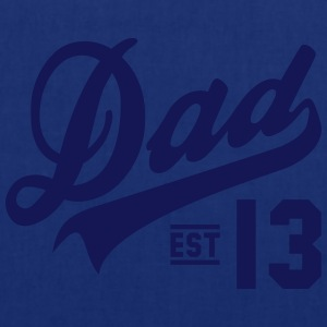 Dad ESTABLISHED 2013 T-Shirt HN - Tote Bag