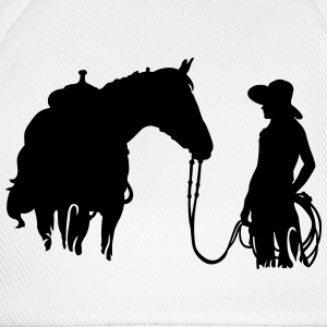horse and woman T-Shirts - Baseball Cap