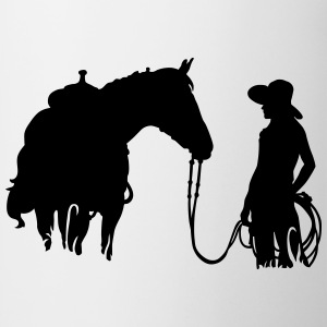 horse and woman T-shirts - Mok