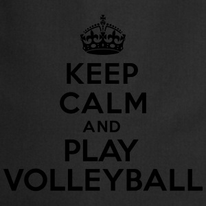 Keep calm and play volleyball Sweat-shirts - Tablier de cuisine