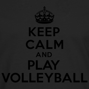 Keep calm and play volleyball Sweat-shirts - T-shirt manches longues Premium Homme