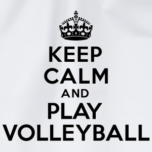 Keep calm and play volleyball Autres - Sac de sport léger