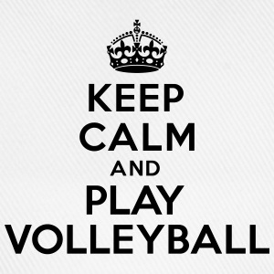 Keep calm and play volleyball Autres - Casquette classique