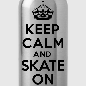 Keep calm skate on Sweat-shirts - Gourde