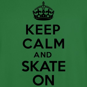 Keep calm skate on Sweat-shirts - Maillot de football Homme