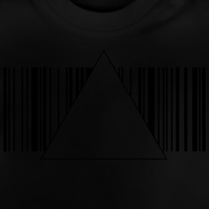 Barcode hipster triangle 2 c. Shirts - Baby T-Shirt