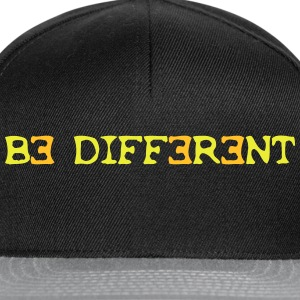 Be different! 2c Sacs - Casquette snapback