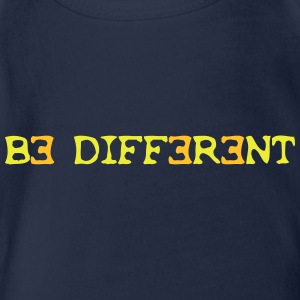 Be different! 2c T-Shirts - Baby Bio-Kurzarm-Body