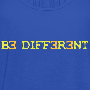 Be different! 2c Shirts - Women's Tank Top by Bella