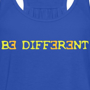 Be different! 2c T-shirts - Vrouwen tank top van Bella