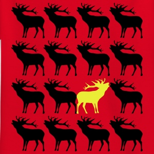 Hirsch Unikat Einzigartig be different 2c T-Shirts - Kinder T-Shirt
