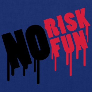 No Risk No Fun Graffiti T-Shirts - Stoffbeutel
