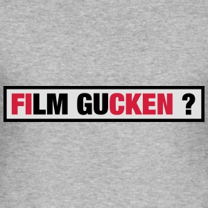 Film gucken ? Pullover & Hoodies - Männer Slim Fit T-Shirt