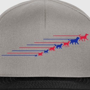 Dogs on a leash 5 Tassen & rugzakken - Snapback cap