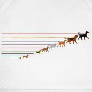 Dogs on a leash 2 Tee shirts - Casquette classique