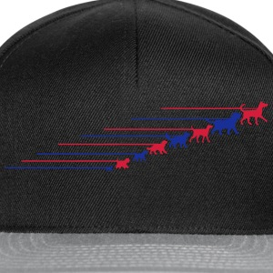 Dogs on a leash 5 Tee shirts - Casquette snapback