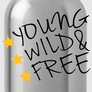 Young Wild And Free T-Shirts - Water Bottle