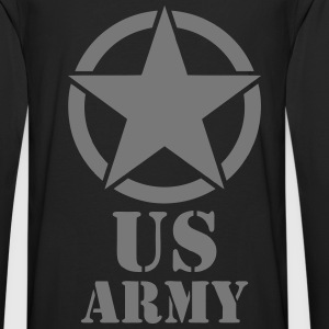us army design Sweat-shirts - T-shirt manches longues Premium Homme
