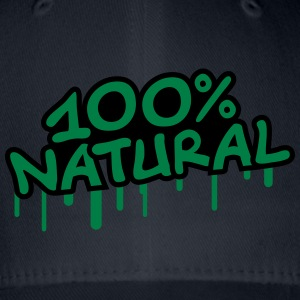 100 Procent Natural T-shirts - Flexfit baseballcap