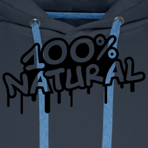 100 Procent Natural Tee shirts - Sweat-shirt à capuche Premium pour hommes