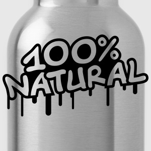 100 Procent Natural T-shirts - Drinkfles