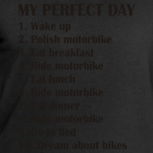 My perfect day T-Shirts - Men's Sweatshirt by Stanley & Stella