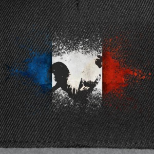 French Flag Tee shirts - Casquette snapback