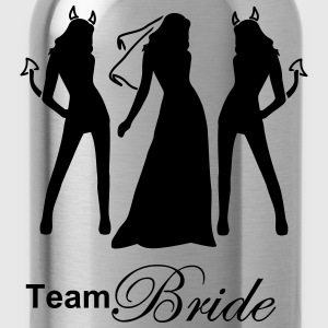 team bride T-shirts - Vattenflaska