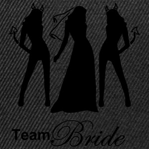 team bride Camisetas - Gorra Snapback