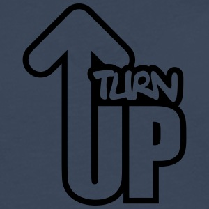 Turn Up T-shirts - Herre premium T-shirt med lange ærmer