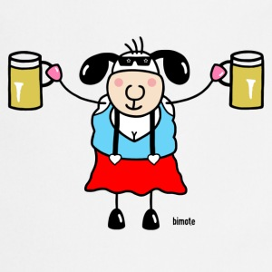 Sheep woman with glass of beer T-Shirts - Cooking Apron