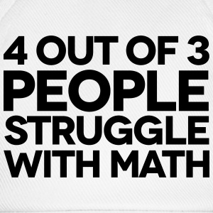 Struggle With Math Shirts - Baseball Cap