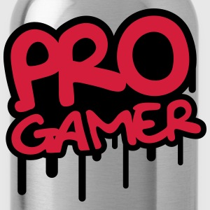 Pro Gamer Graffiti T-shirts - Vattenflaska