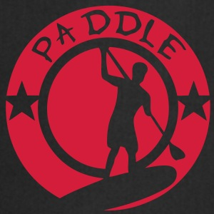 paddle logo tampon board silhouette shad Tee shirts - Tablier de cuisine
