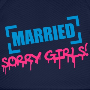 Married Sorry Girls Camisetas - Gorra béisbol