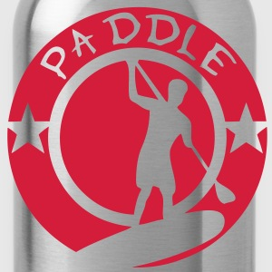 paddle logo tampon board silhouette shad Tee shirts - Gourde