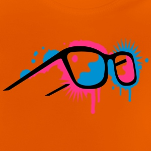 3D glasses in graffiti style Shirts - Baby T-Shirt