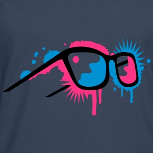 3D glasses in  graffiti style Sweat-shirts - T-shirt manches longues Premium Homme