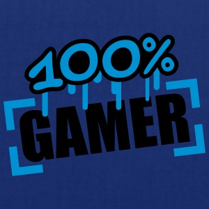 100 Procent Gamer T-shirts - Tas van stof