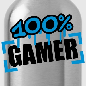 100 Procent Gamer T-shirts - Vattenflaska