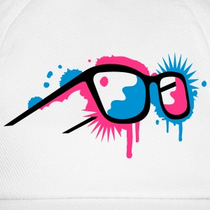 3D glasses in  graffiti style Tee shirts manches longues - Casquette classique