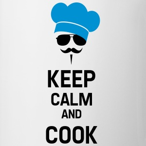 Cook with Moustache Fartuchy - Kubek